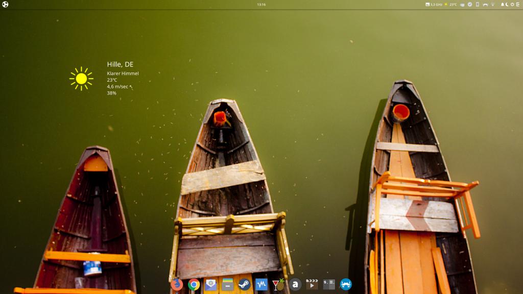 Ubuntu Budgie Desktop 19.04 x64 in 4K